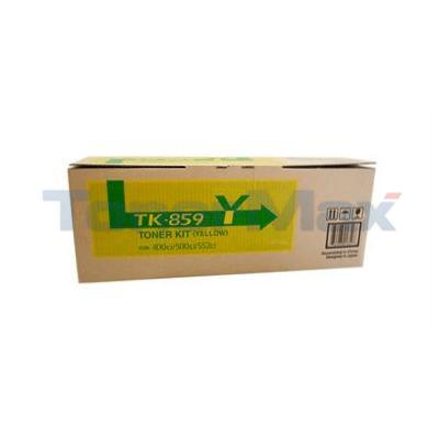 COPYSTAR CS-400CI CS-500CI TONER KIT YELLOW